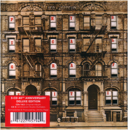 Led Zeppelin - Physical Graffiti [40th Anniversary Deluxe Edition] Альбом скачать торрент