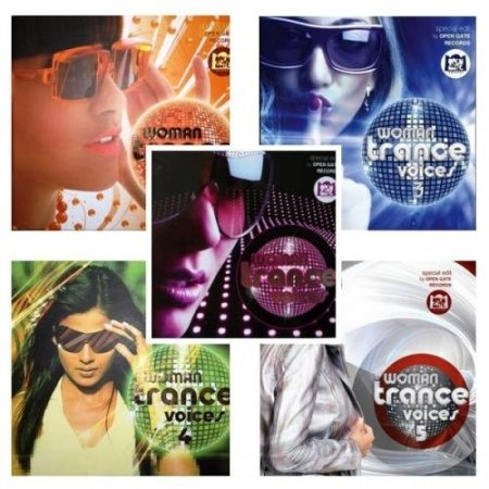 Woman Trance Voices vol.1-11