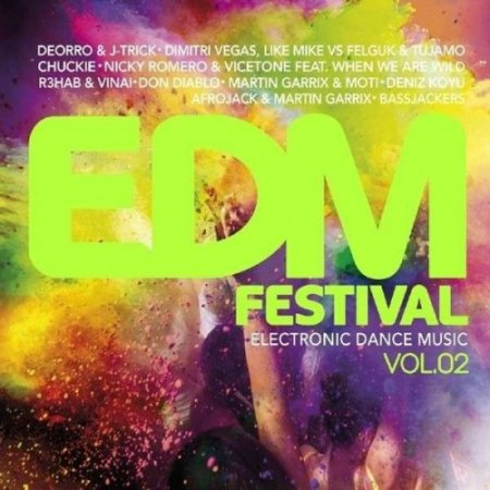 EDM Festival Electronic Dance Music Vol.2-3CD