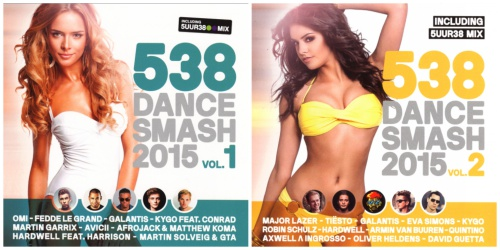 538 Dance Smash 2015 Vol. 1-2