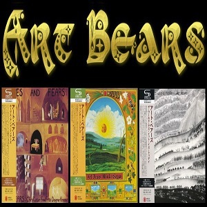 Art Bears - Albums Collection (Mini LP SHM-CD Japan)